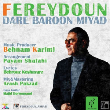 Download Freydoun Asraei 's new song called Dare Baroon Miad