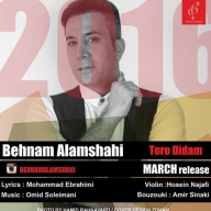 Download Behnam Alamshahi's new song called Toro Didam