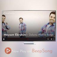 دانلود موزیک ویدئو جدید میثم ابراهیمی به نام دلمو میدم بهت