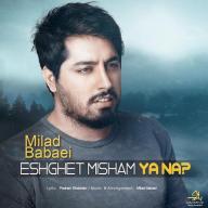 Download Milad Babaei's new song called Eshghet Misham Ya Na