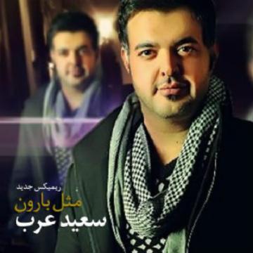 Download Saeed Arab's new song called (Mesle Baroon (Remix