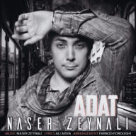 Download Naser Zeynali's new song called Adat