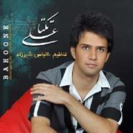 Download Ali Zibaei's new song called Bahoone
