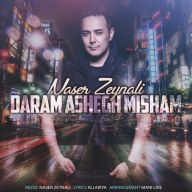 Download naser Zeynali's new song called Daram Ashegh Misham