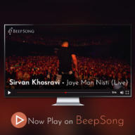 Download Sirvan Khosravi's new song called Jaye Man Nisti (Live)