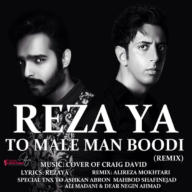 Download Rezaya Ft Alireza Mokhtari's new song called (To Male Man Budi (Remix