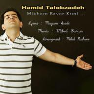 Download Hamid Talebzadeh's new song called  Mikahm Bavar Koni
