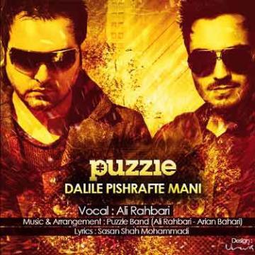 Download Ali Rahbari's new song called Dalile Pishrafte Mani (Puzzle Radio Edit)
