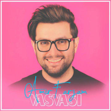 Download Amir Farjam's new song called Vasvasi