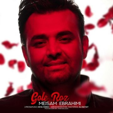 Download Meysam Ebrahimi's new song called Gole Roz