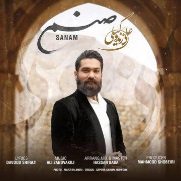 Download Ali ZandVakili's new song called Sanam